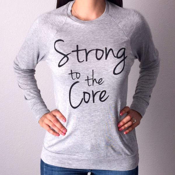 Strong to the Core Lightweight Sweater